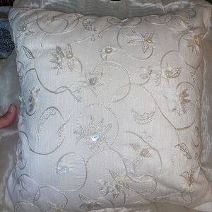 Other - Set of 2 off white pillows 17 inches